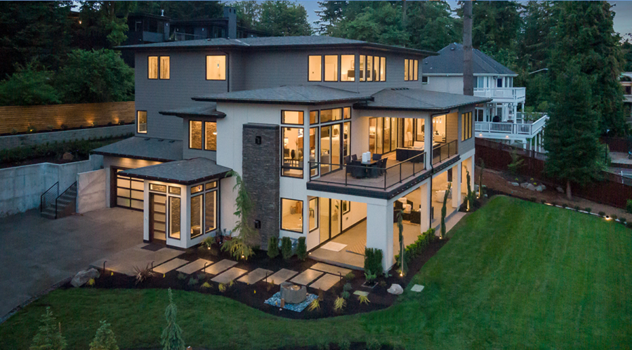 Bellevue Luxury Real Estate Drone Video