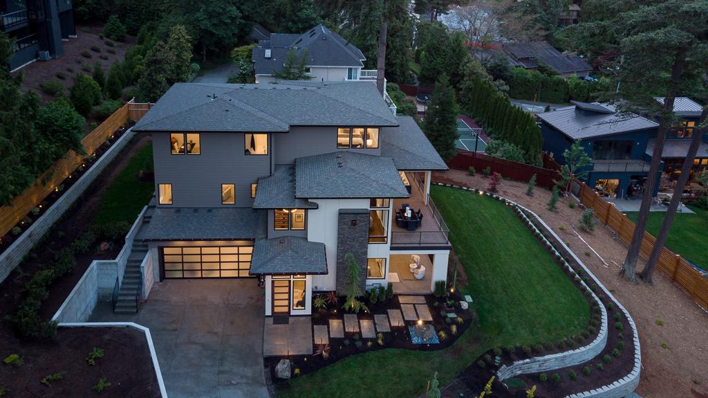 Bellevue Luxury Home Landscaping